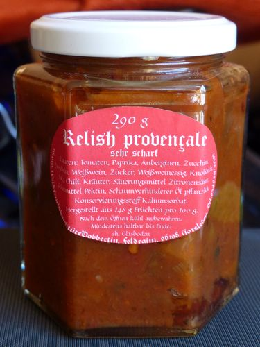 Relish provencale, sehr scharf
